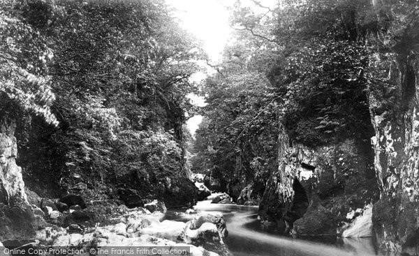 Betws Y Coed, Fairy Glen c.1876