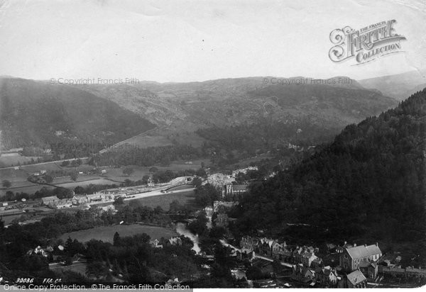 Betws Y Coed, From Hill Above Pont Y Pair 1892