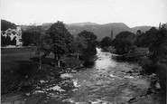 Betws-Y-Coed, From Waterloo Bridge 1892