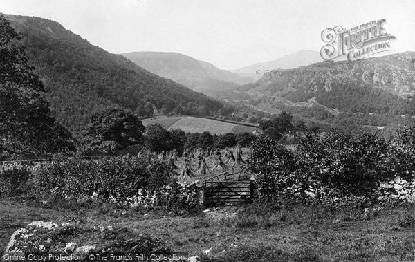 Betws Y Coed, Lledre Valley 1891