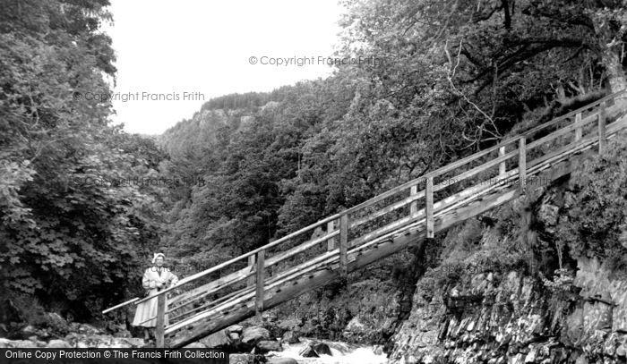 Betws Y Coed, Miner's Bridge 1953