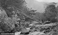 Betws-Y-Coed, Miner's Bridge c.1864