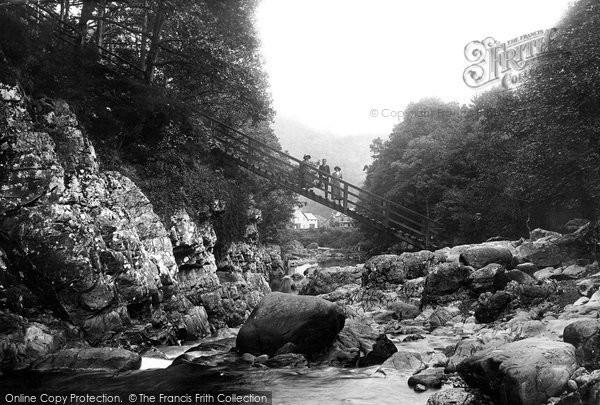 Betws Y Coed, Miners Bridge 1913