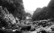Betws-Y-Coed, Miners Bridge 1913