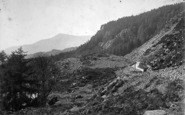 Betws-Y-Coed, Moel Siabod From Viaduct c.1890