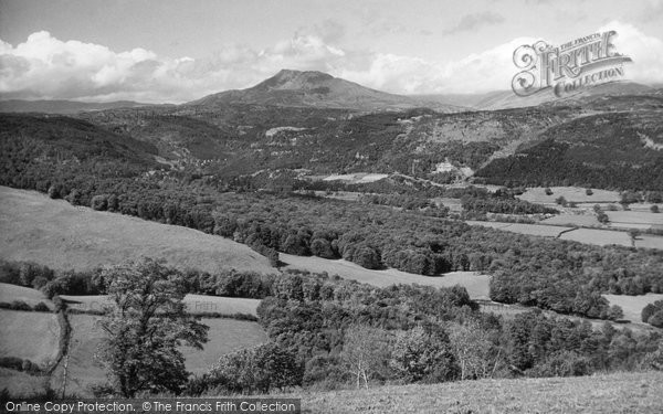 Betws Y Coed, Noel Siabod And The Upper Conway Valley 1947