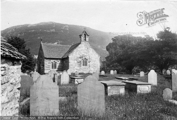 Betws Y Coed, Old Church 1892