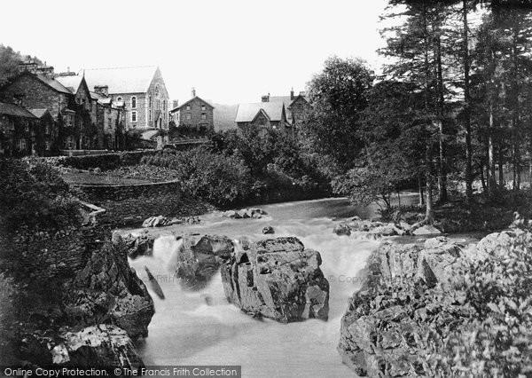 Betws Y Coed, On The Llugwy c.1870