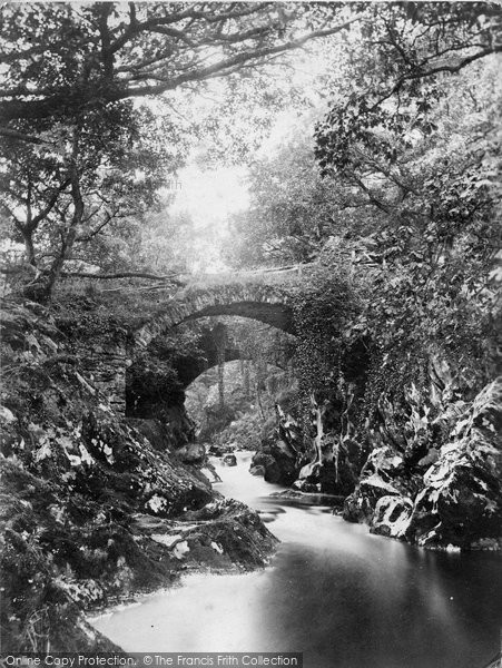 Betws Y Coed, Pandy Bridge c.1880