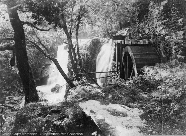 Betws Y Coed, Pandy Mill c.1868