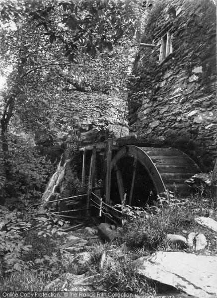 Betws Y Coed, Pandy Mill c.1880