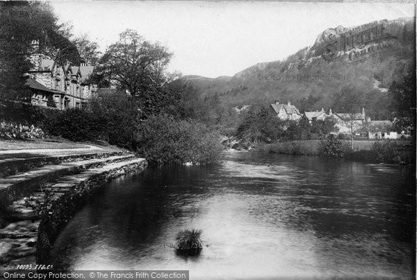 Betws Y Coed, Pont Y Pair 1892