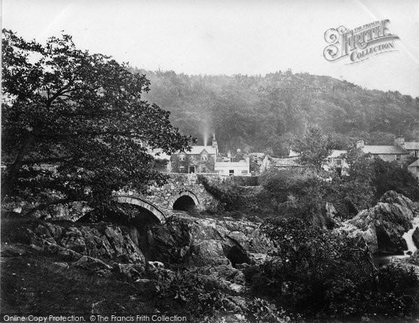 Betws Y Coed, Pont Y Pair c.1864
