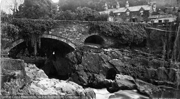 Betws Y Coed, Pont Y Pair c.1876