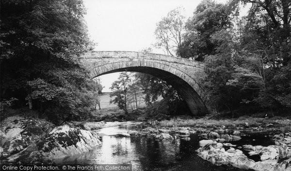 Betws Y Coed, Rhydlanfair Bridge 1968