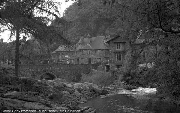 Betws Y Coed, River L Lugwy By Fir Tree Island 1953