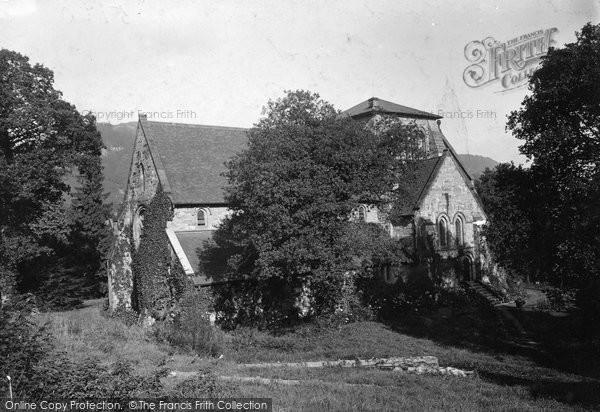 Betws Y Coed, St Mary's Church c.1900