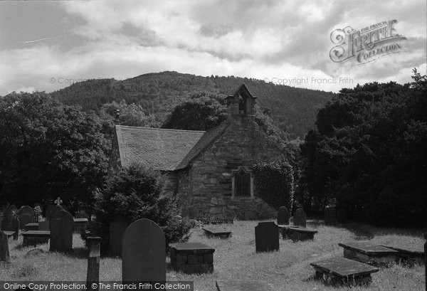 Betws Y Coed, St Michael's Church 1953