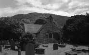Betws-Y-Coed, St Michael's Church 1953
