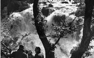 Betws-Y-Coed, Swallow Falls 1952