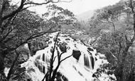Betws-Y-Coed, Swallow Falls c.1864