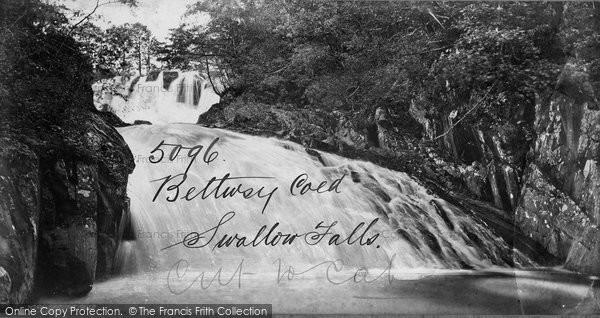 Betws Y Coed, Swallow Falls c.1870