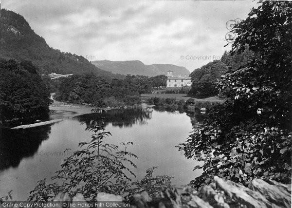 Betws Y Coed, The Beaver Pool c.1880