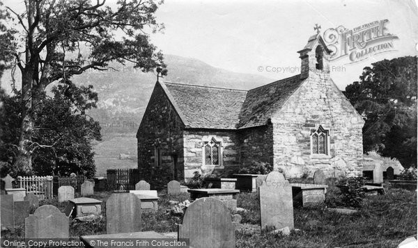 Betws Y Coed, The Church c.1876