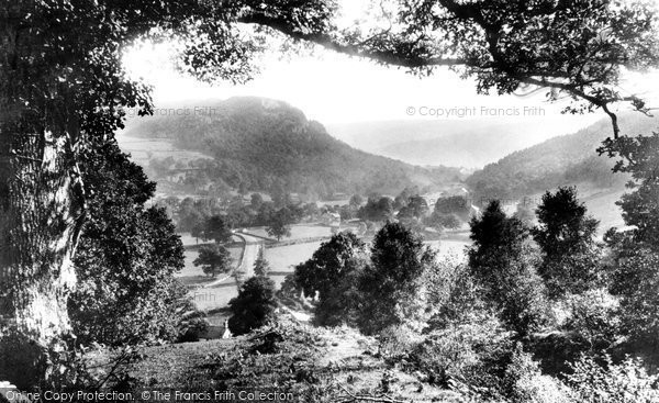 Betws Y Coed, The Llugwy Valley From Above Miners Bridge 1891