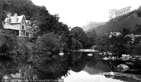 Betws Y Coed, The River Llugwy c.1876