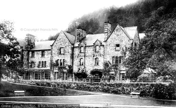 Betws Y Coed, The Royal Oak Hotel 1892