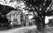 Betws-Y-Coed, The Royal Oak Hotel c.1870