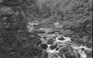 Betws-Y-Coed, The Swallow Falls 1959