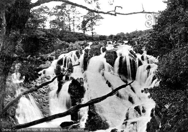 Betws Y Coed, The Swallow Falls c.1870
