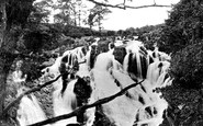 Betws-Y-Coed, The Swallow Falls c.1870
