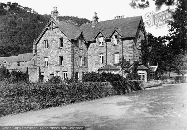Betws Y Coed, The Waterloo Hotel c.1870