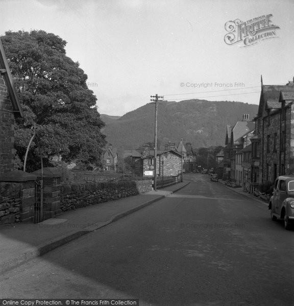 Betws Y Coed, Town 1953