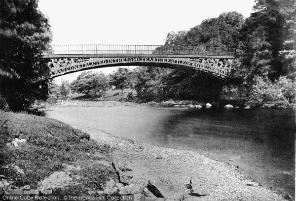 Betws Y Coed, Waterloo Bridge c.1870