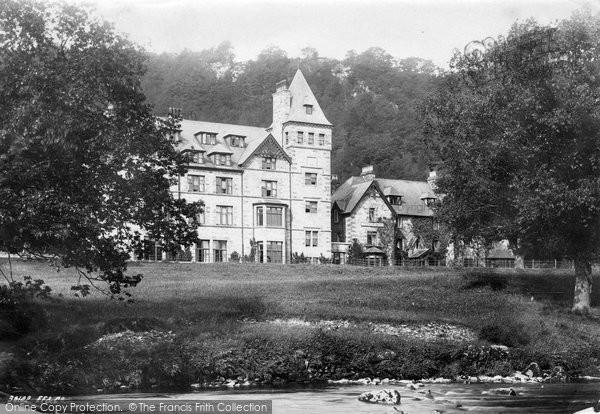Betws Y Coed, Waterloo Hotel  1892