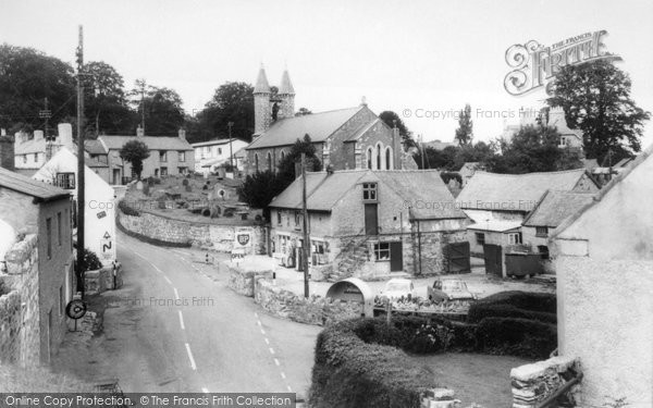 Betws Yn Rhos, The Village And St Michael's Church c.1960