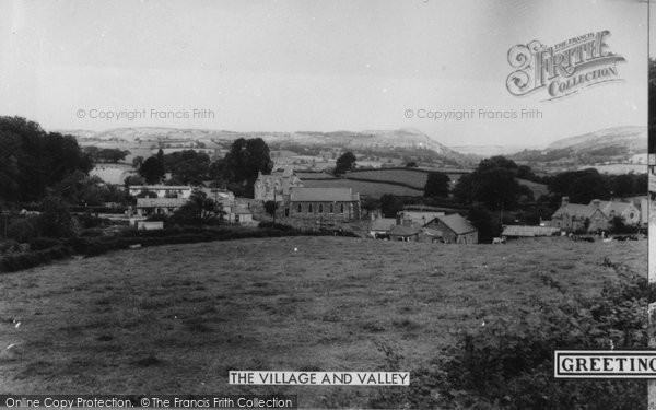 Betws Yn Rhos, The Village And Valley c.1960