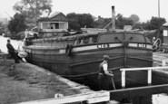 Beverley, Barge In The Lock c.1960
