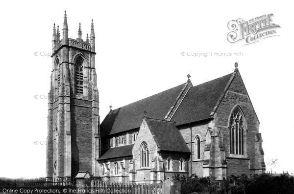 Beverley, Church Of St Nicholas c.1885