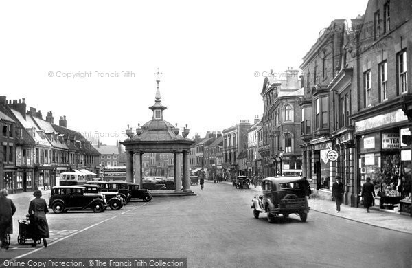 Beverley, Market Place 1934