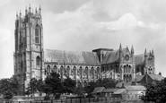 Beverley, Minster 1900