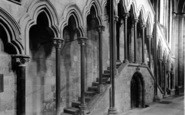 Beverley, Minster, Early English Staircase c.1955