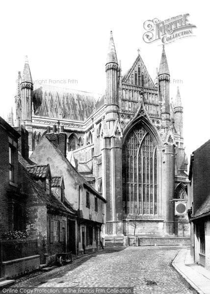 Beverley, Minster East End c.1885