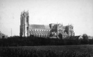 Beverley, Minster, From The Fields c.1885