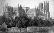 Beverley, Minster, From The North East c.1869