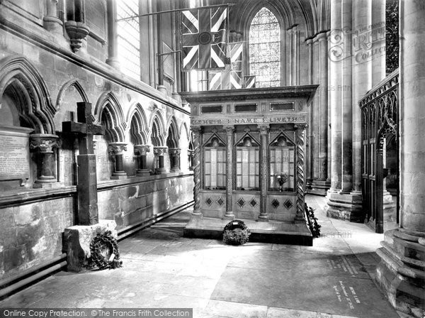 Beverley, Minster Memorial Chapel 1934